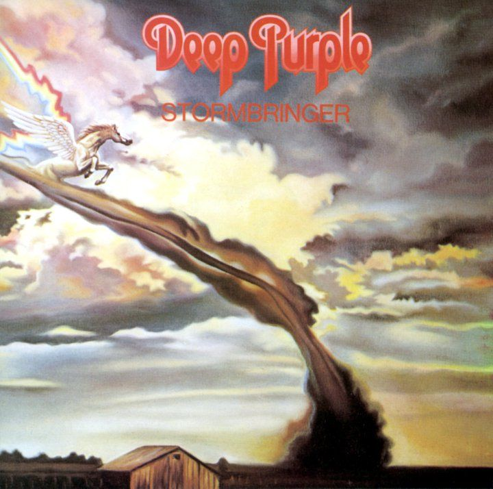 Deep Purple Stormbringer One Of My Fave Ever Albums Great Driving Music Too With Images Rock Album Covers Deep Purple Album Covers
