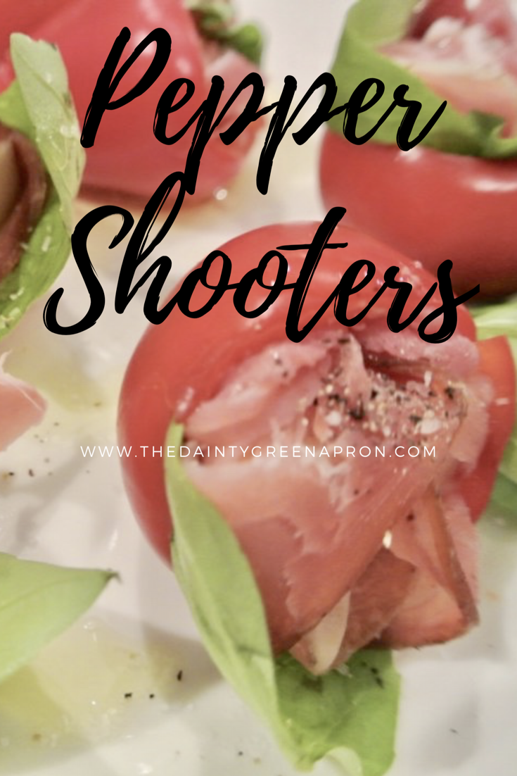 Stuffed Hot Cherry Peppers With Prosciutto Provolone And Basil Stuffed Peppers Hot Cherry Peppers Delicious Appetizer Recipes