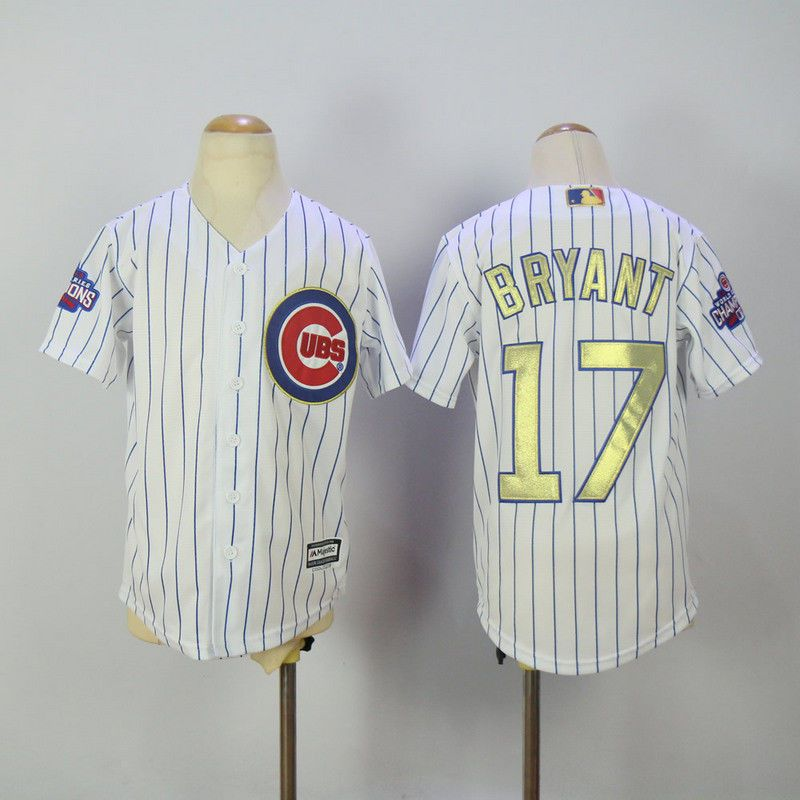 100313cfe Details about Chicago Cubs Jersey  17 Kris Bryant