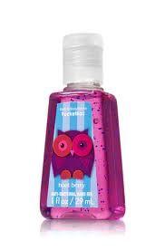 Fresh Berry Hand Sanitizer- Bath & Body Works (cute bottle :))