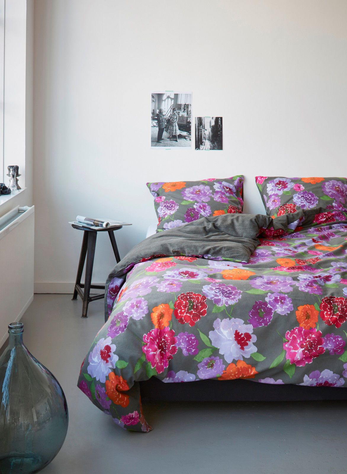 vanezza biber bettw sche kemba grau 155x220 80x80 cm flanell bedding pinterest winter. Black Bedroom Furniture Sets. Home Design Ideas