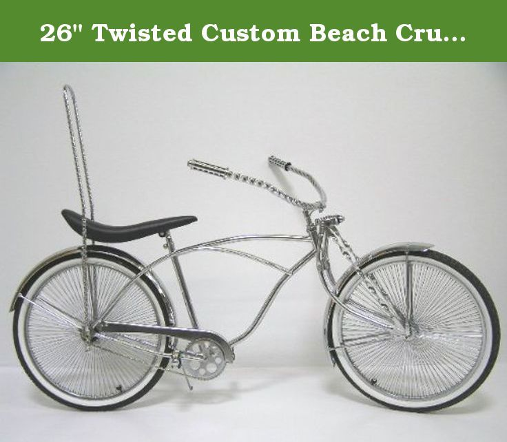 26 Twisted Custom Beach Cruiser Bike 26 Beach Cruiser Frame