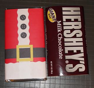 kim s korner santa suit candy bar wrapper candy bar gifts candy bar wrappers christmas wrapper pinterest