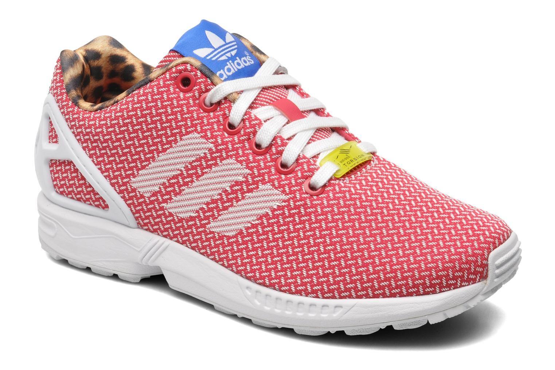 adidas zx flux rose et orange