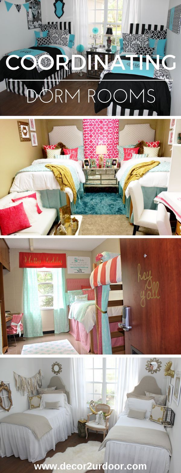 Dream Dorm Room: Design Your Dream Dorm Room With Your Roommate. Mix And