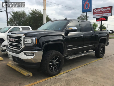 2015 Gmc Sierra 2500 Hd 24x14 76mm Arkon Off Road Caesar In 2020