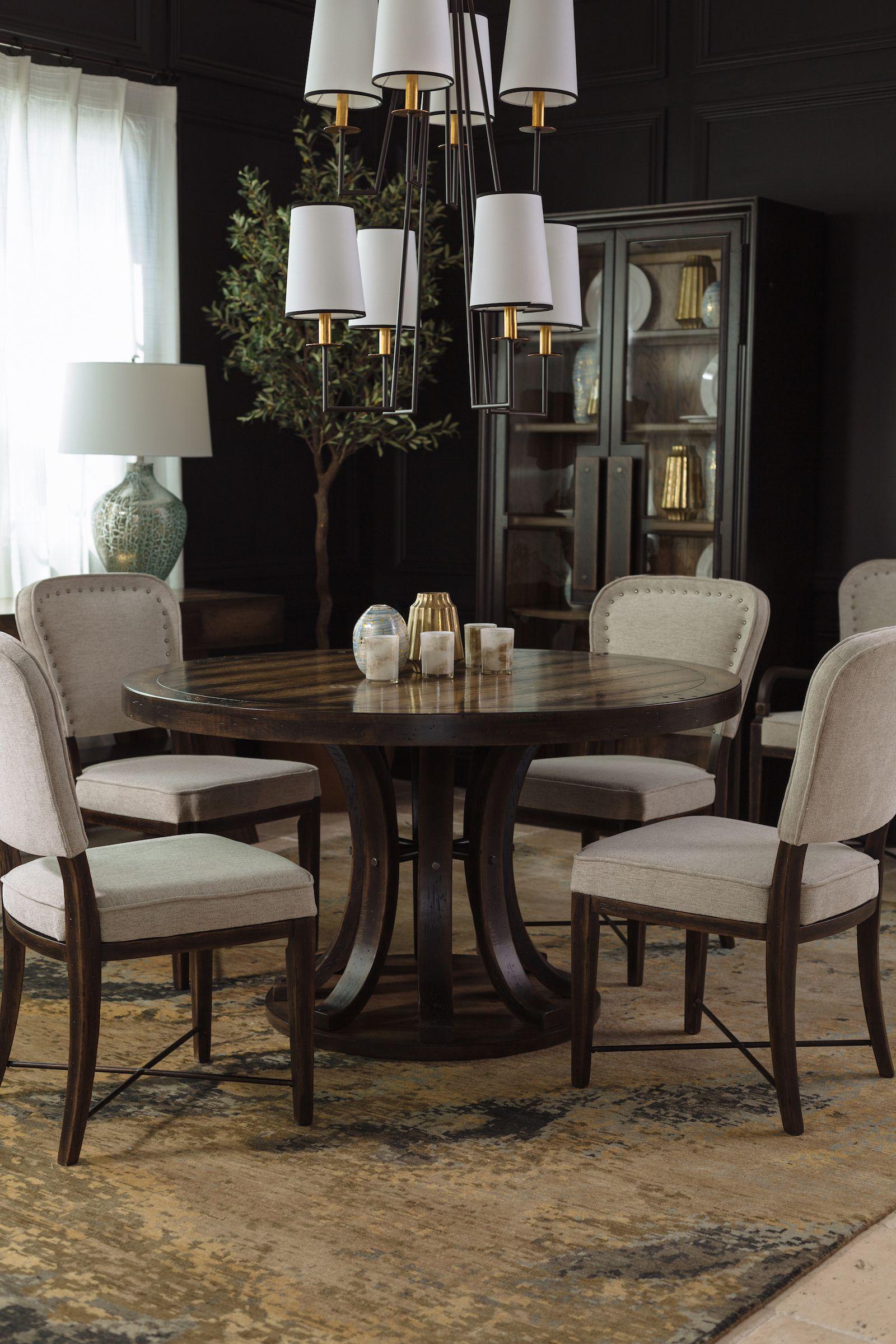 Dark Wooden Kitchen Table