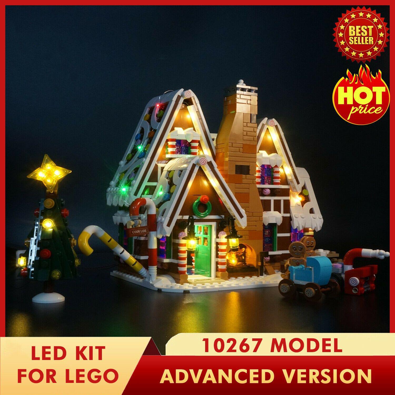 LED Light Kit For LEGO 10267 Gingerbread House Model