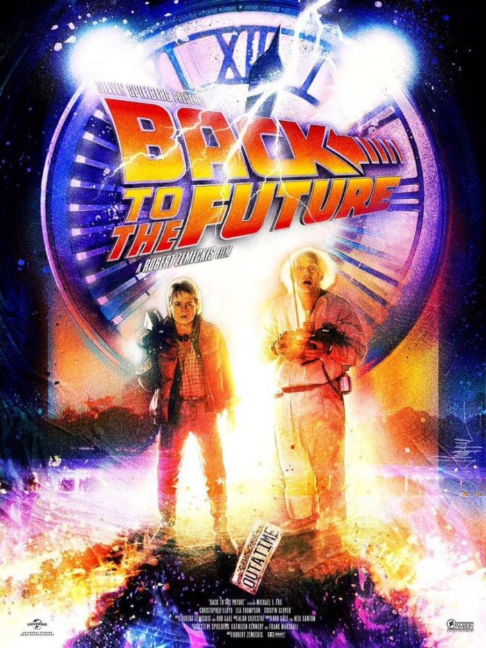 The ONLY 'Back to the Future' Link/Photo/Video Round-Up You Need to Read on BTTF Day - Page 2 of 3 - /Film