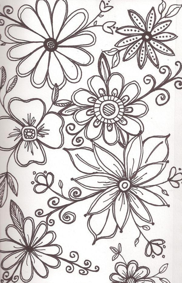 Pin Von R S Auf Zeichnen Blumen Pinterest Zeichnen Malerei