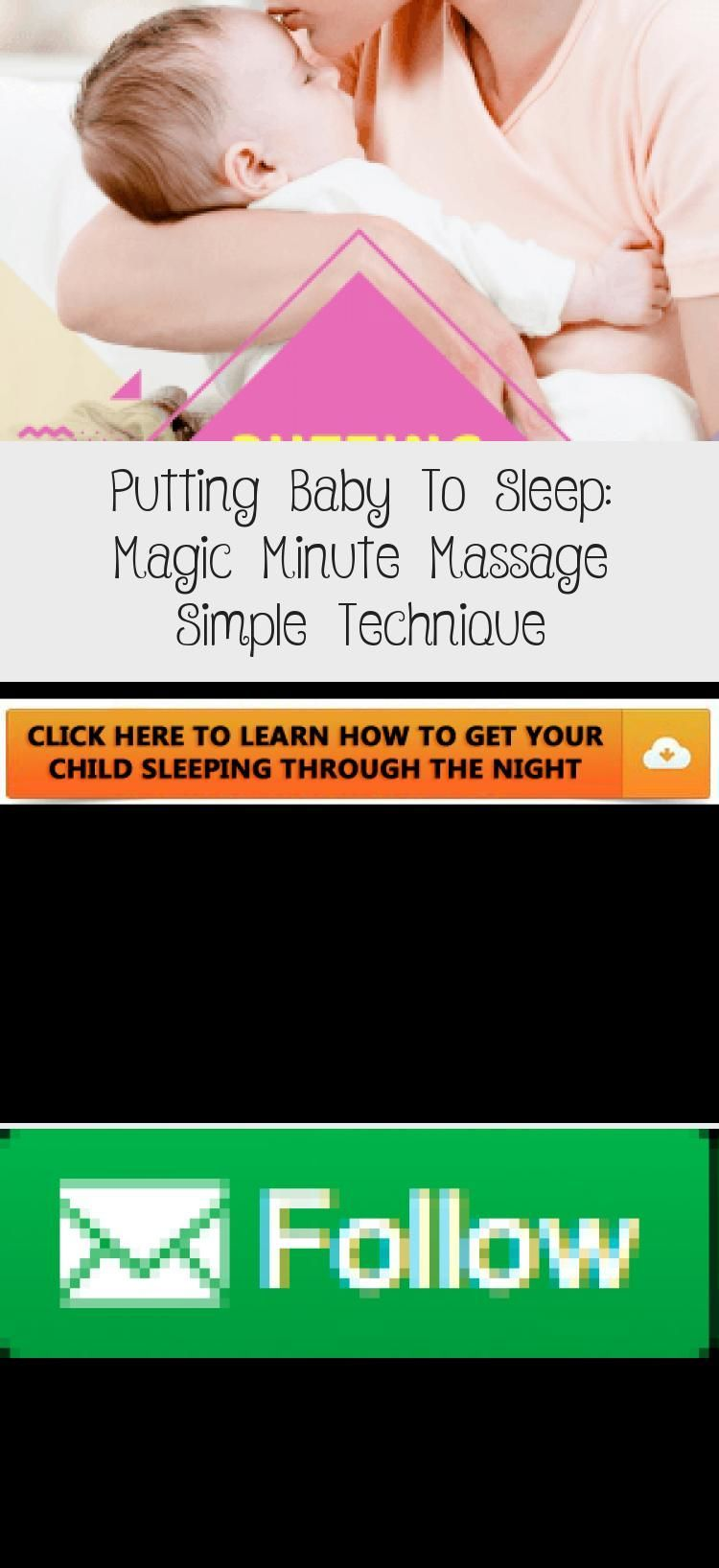 Putting Baby To Sleep: Magic Minute Massage Simple Technique - health and diet fitness -  Learn the...