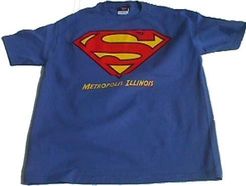Metropolis IL Superman Logo Kids Youth Shirt   Products