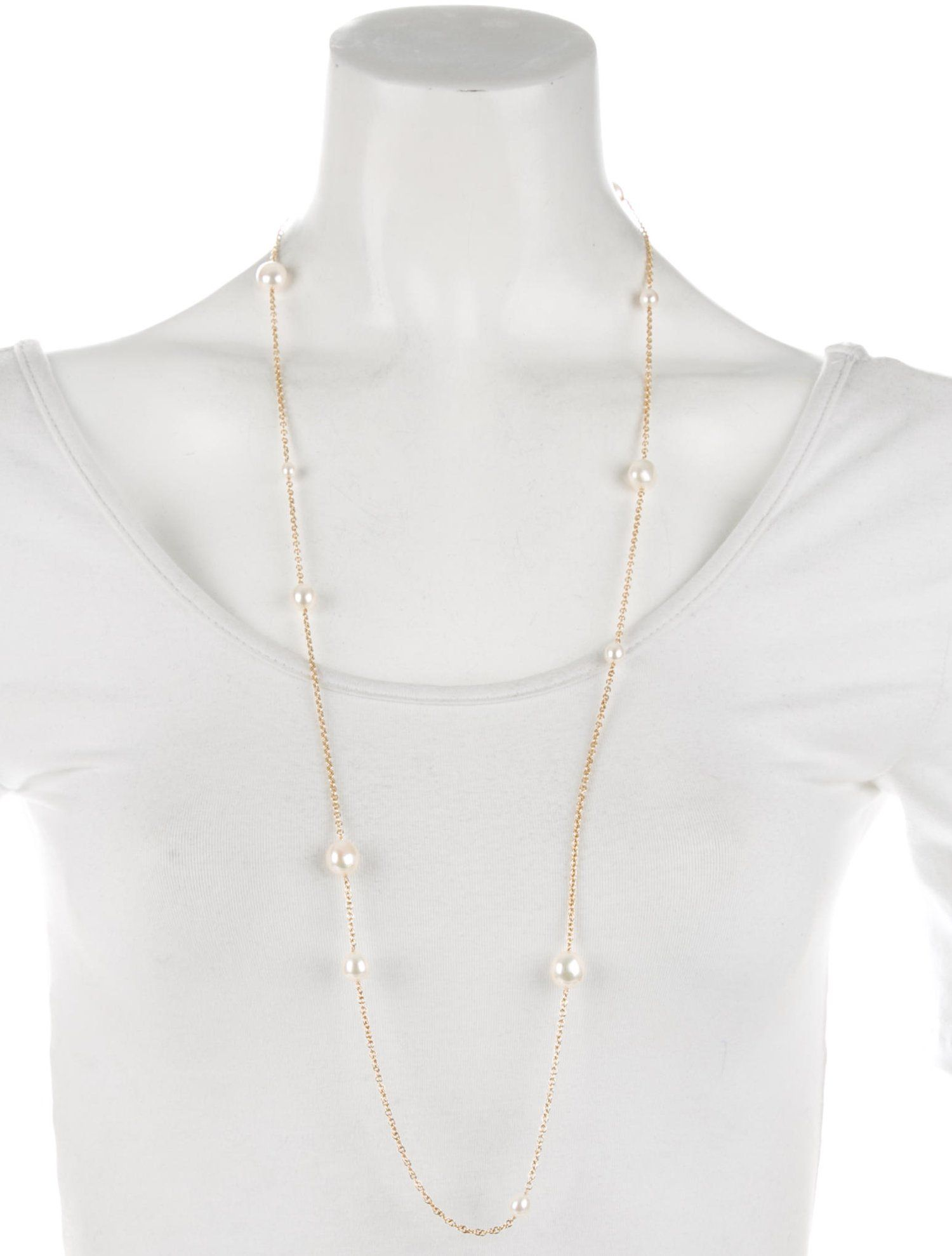 3404874a7 Tiffany & Co. 18K Pearls by the Yard Sprinkle Necklace #amp #Tiffany #Pearls