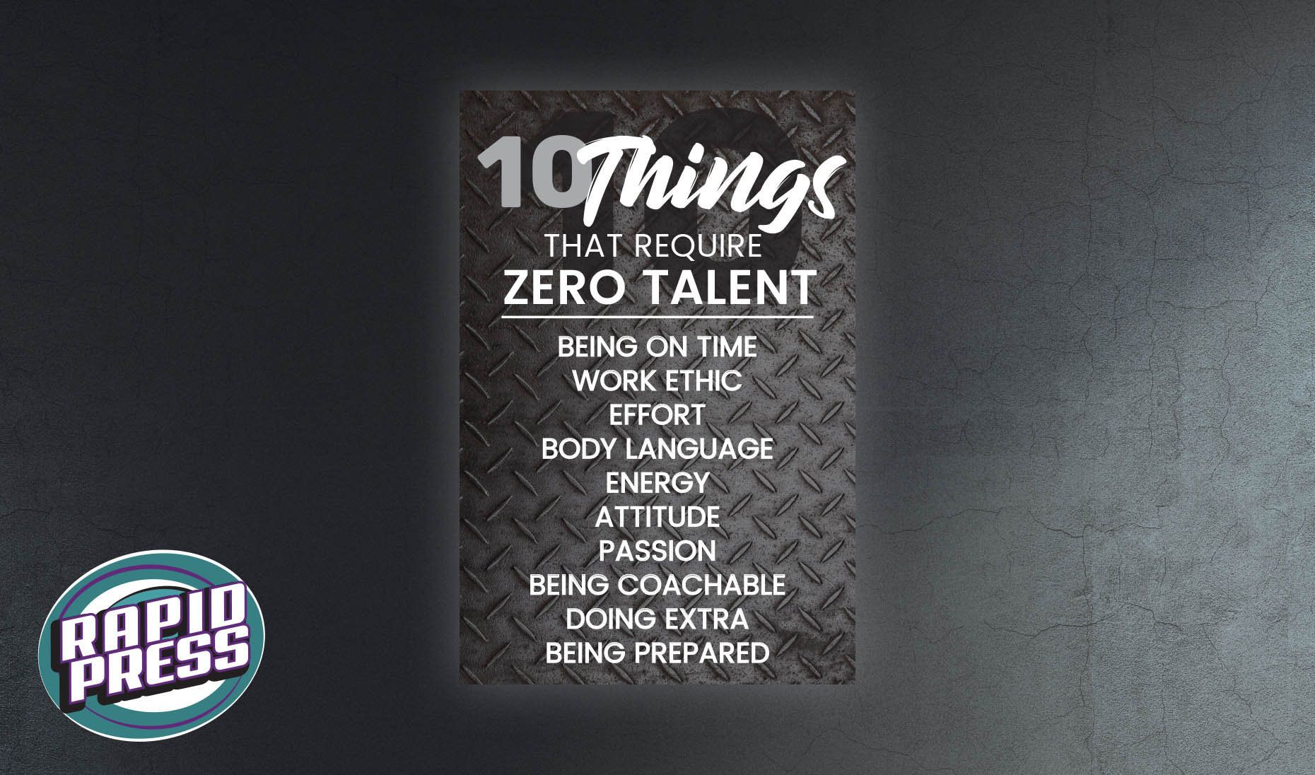 10 Things That Require Zero Talent Office Wall Hanging Diamond