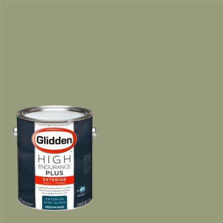 Glidden High Endurance Plus, Exterior Paint, Pacific Pines Sage / , # 90YY 35/169