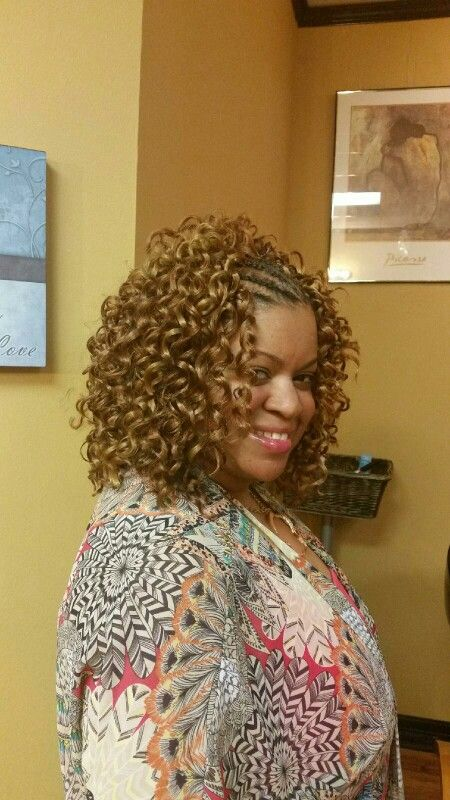 Freetress Presto Curl with braided front