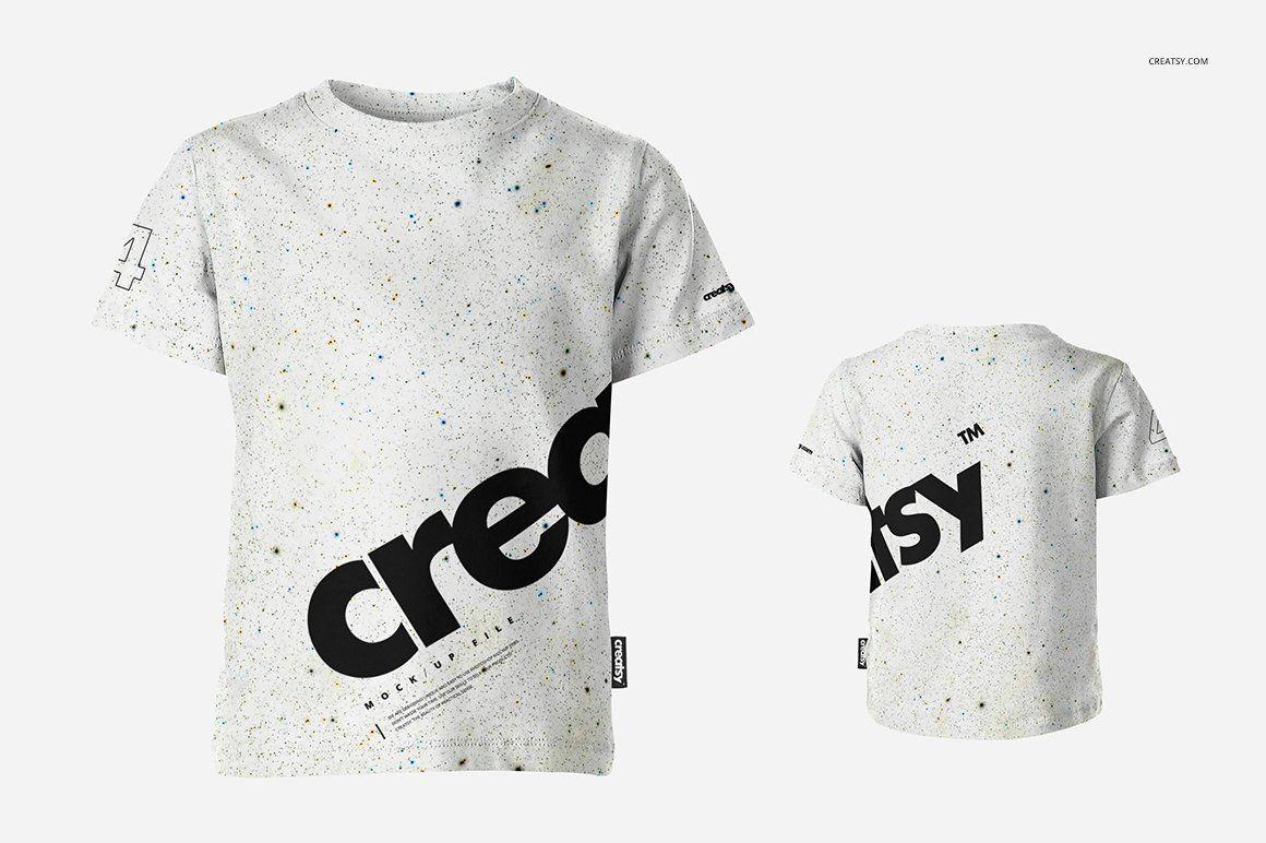 Download Kids T Shirt Mockup Set Shirt Mockup Tshirt Mockup Shirt Template