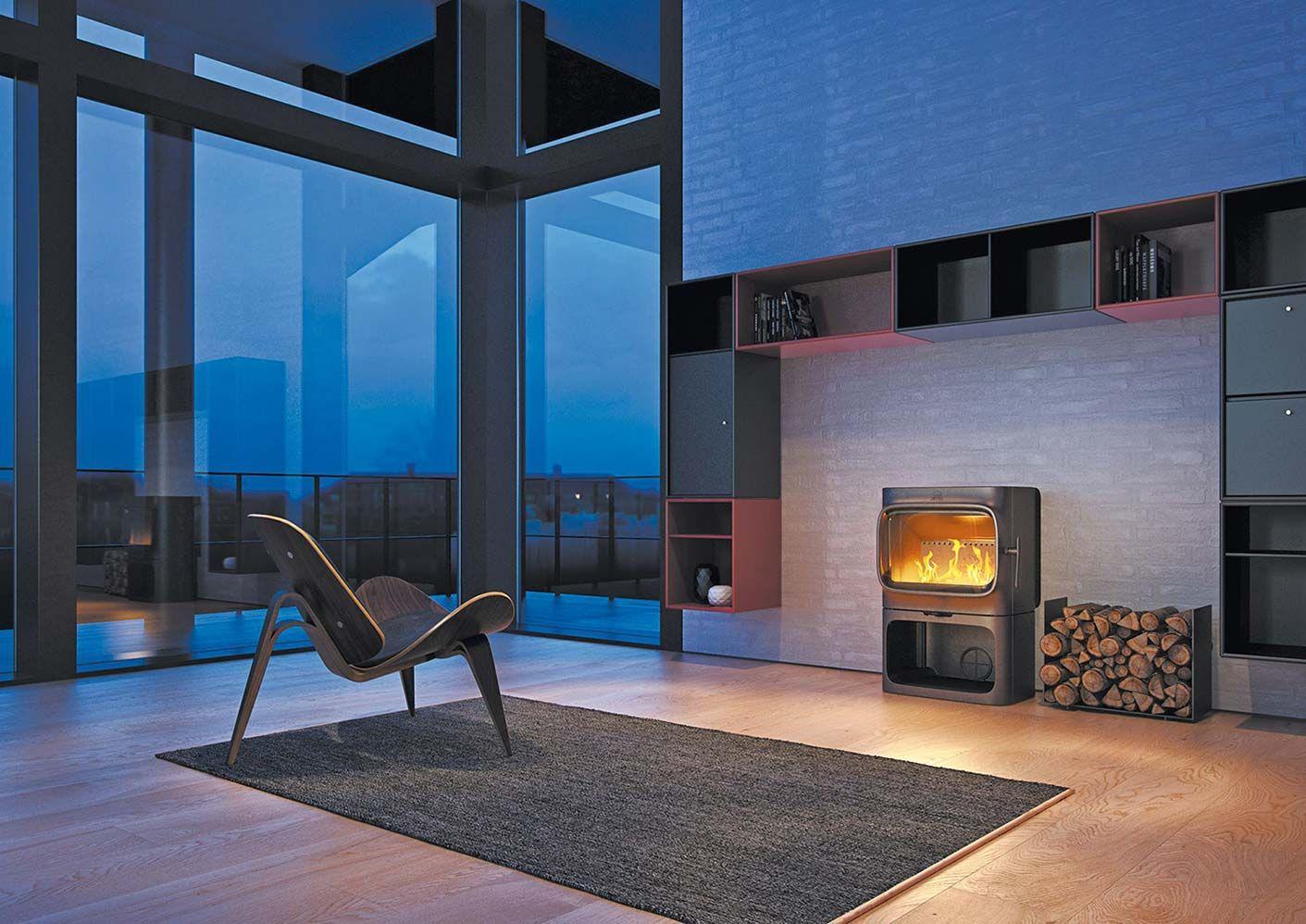 feu de joie chambre de combustion n o classique et noir mat. Black Bedroom Furniture Sets. Home Design Ideas