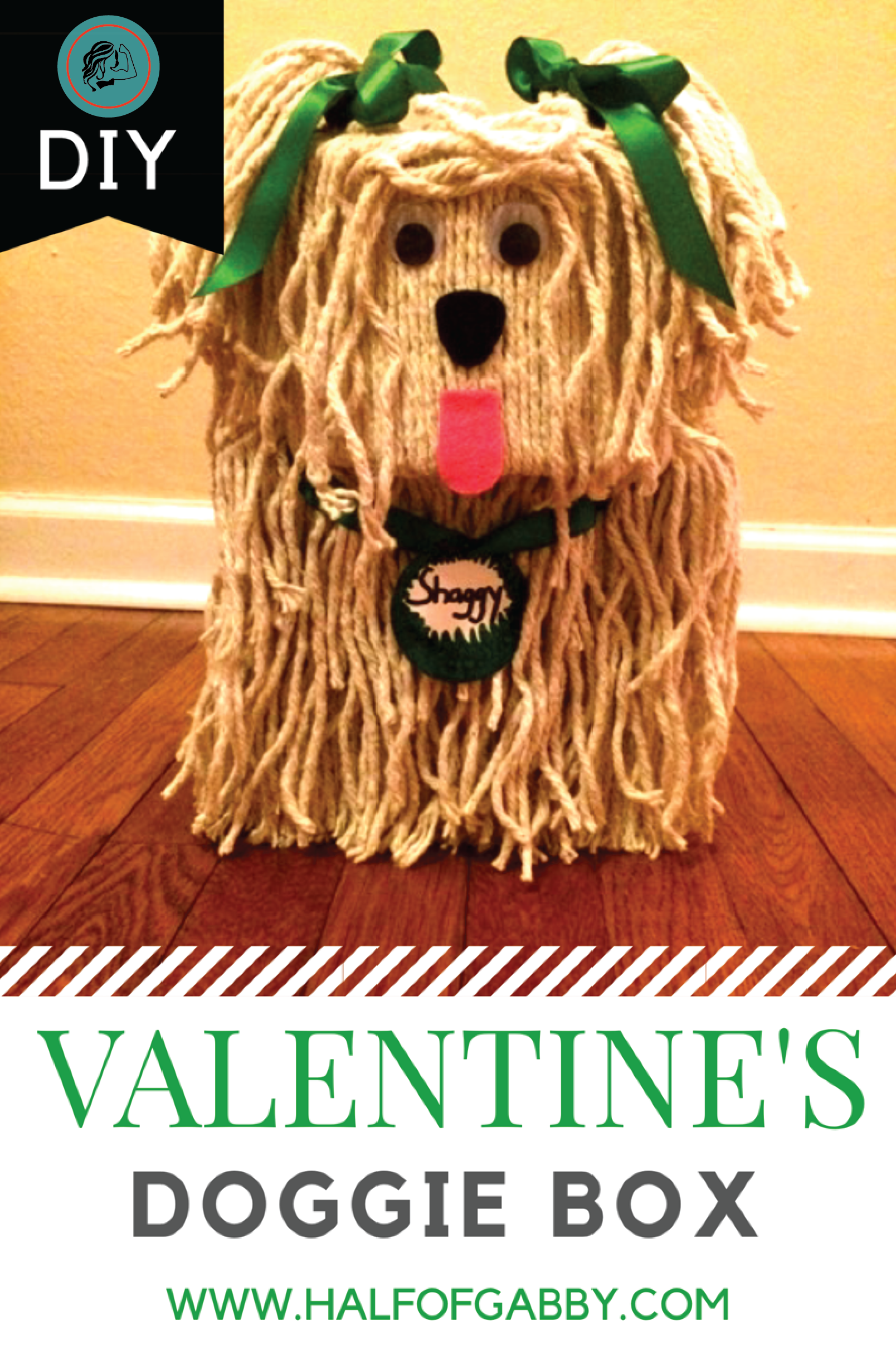 DOGGIE VALENTINE BOX: Printable Instructions Included! — Half of Gabby