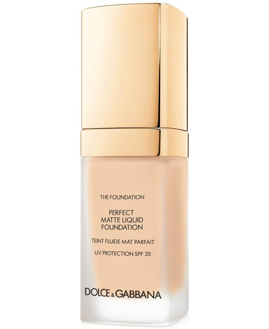 Dolce&Gabbana Perfect Matte Liquid Foundation