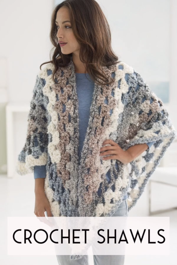 Photo of Easy Crochet Shawls – free pattern