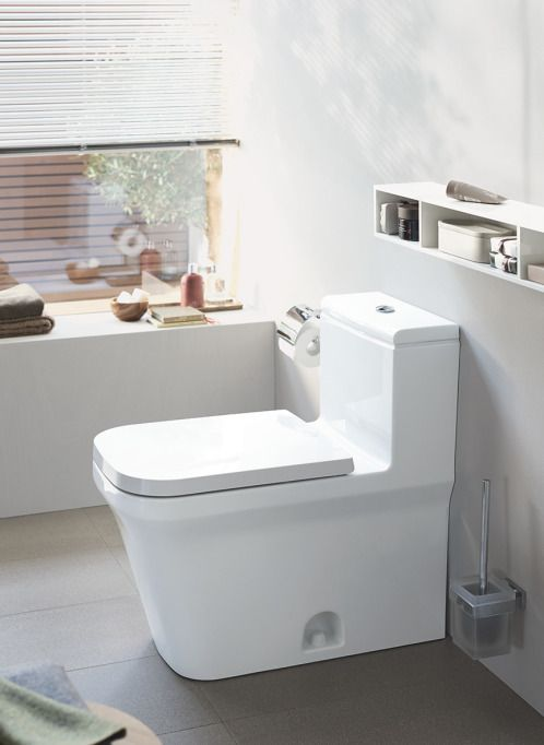 The Close Coupled P3 Comforts Toilet From Duravit For