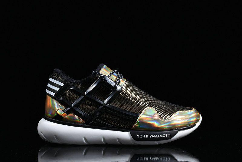 8fced0548d3d Latest and Newest Adidas Y3 Qasa High Yohji Yamamoto Black Noir Yellow  Multi Color White blanc Youth Big Boys Sneakers