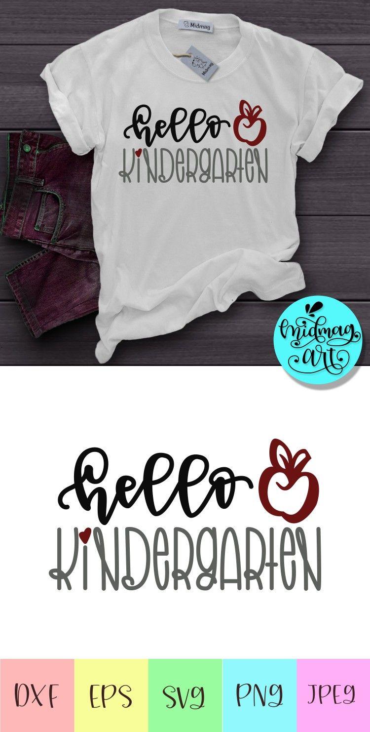 Details about  /Hello School Tshirt Mug Pillow Design Cricut file SVG Teacher School Day Gift