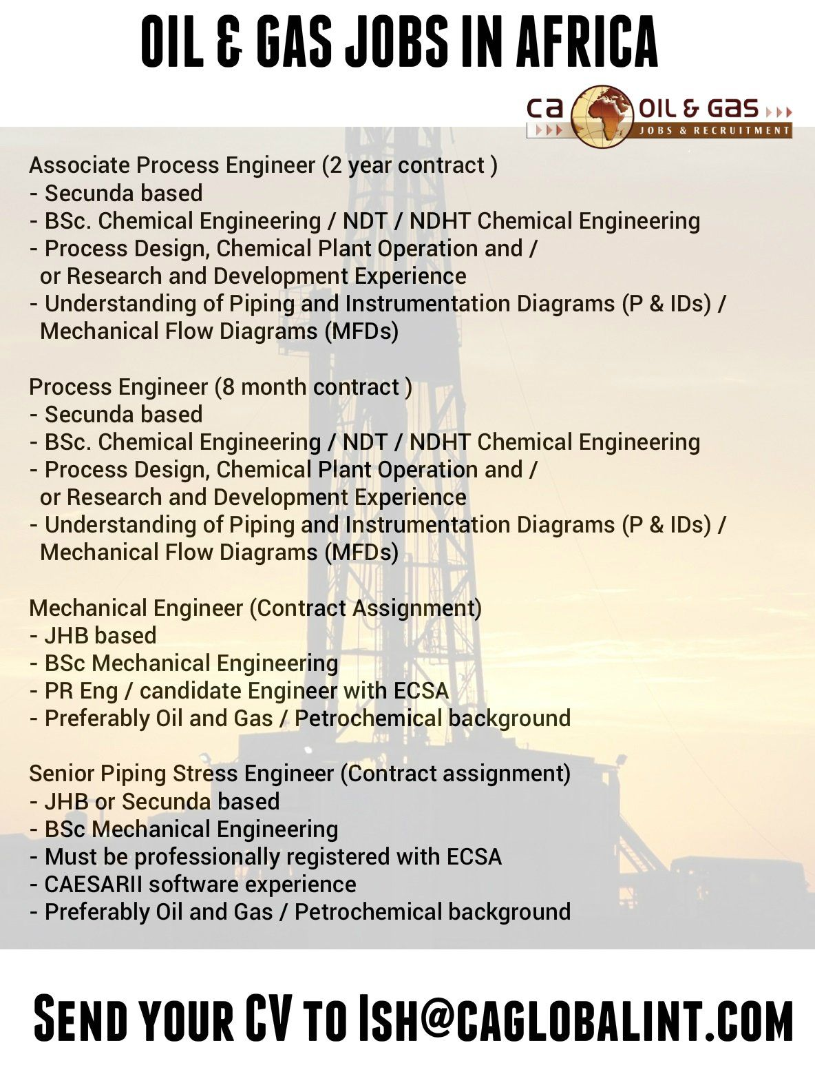 Piping Stress Engineer Sample Resume 2 Twitter  Jobs In Africa  Pinterest  Africa