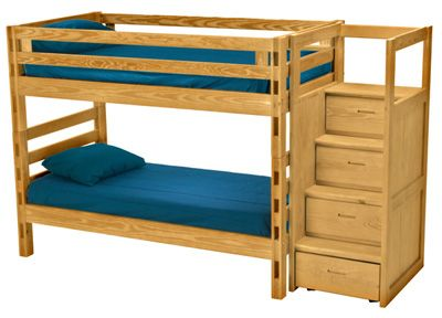Solid Pine Bunk Bed By Crate Designs Quality Canadian