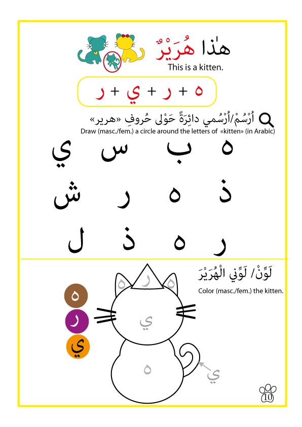 introducing myself arabic worksheets arabic english arabic only arapca learning arabic. Black Bedroom Furniture Sets. Home Design Ideas
