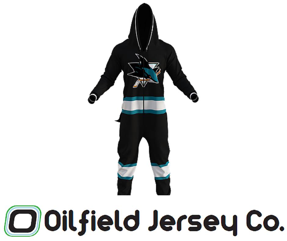 bd8cc55e1e Hockey Sockey Onesie - San Jose Sharks