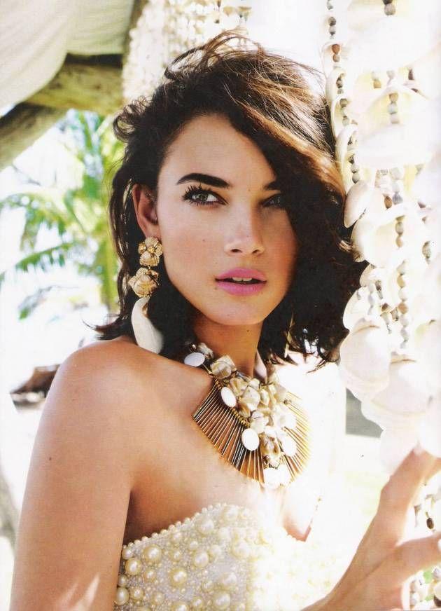 Vogue Brazil January 2012  Photographer: J.R. Duran  Stylist: Giovanni Frasson  Hair/Make Up: Max Weber  Model: Tayane Leão