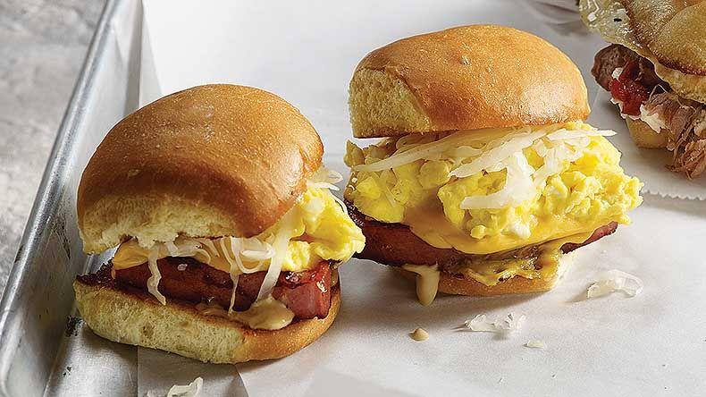 PDXWT breakfast sandwich (bologna, eggs, sauerkraut, and ...