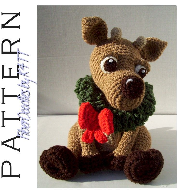 SA014 - Regis the Baby Reindeer pattern by FDbyK4TT | Crochet style ...