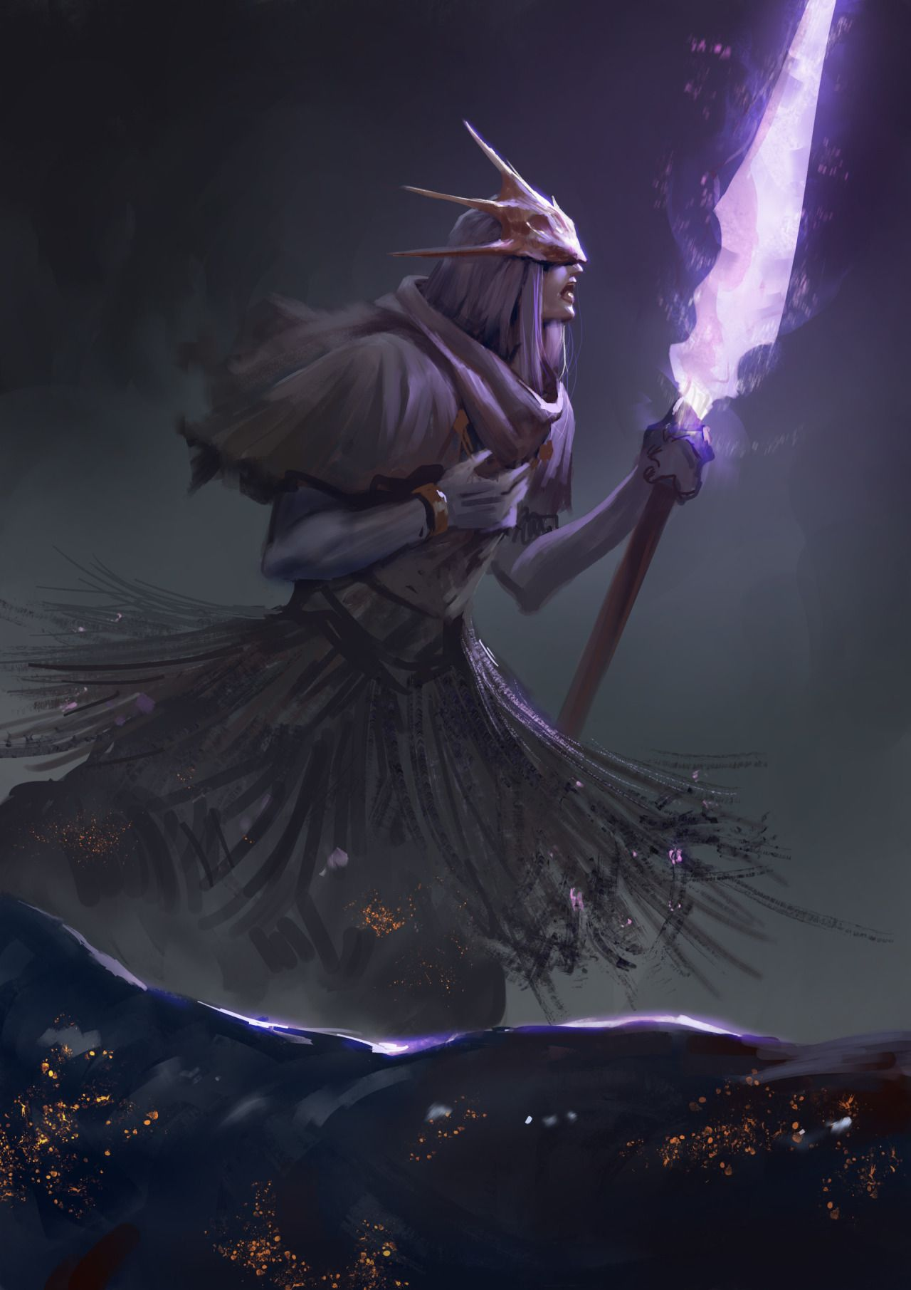 Dark-Souls-3 --  Aldrich, Devourer of Gods by Josh Corpuz
