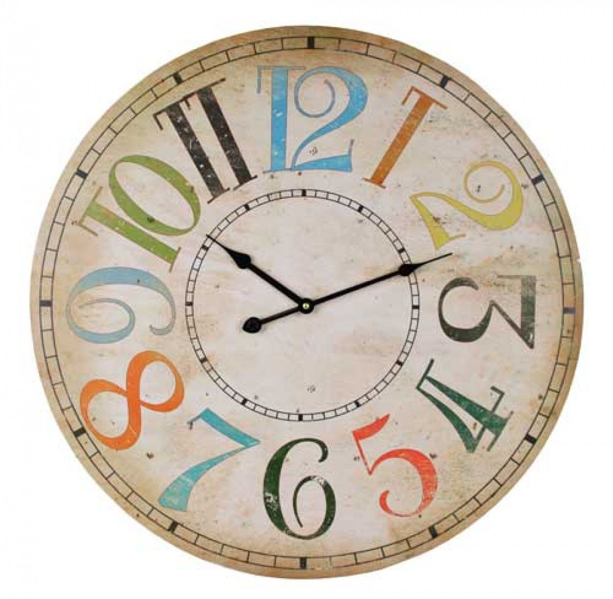 Am americana country wall clocks - Coloured Numbers Wall Clock 79 95