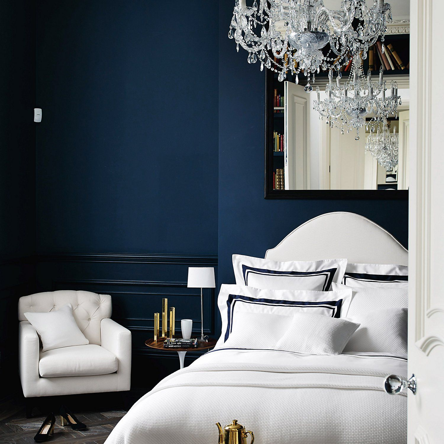 Brompton bed linen collection the white company homebedroom