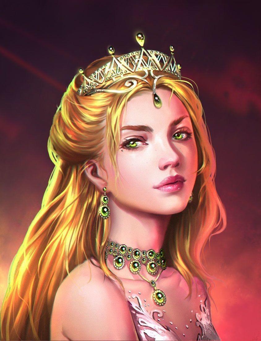 Фэнтези девушки принцессы картинки