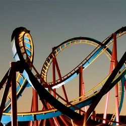 Love the photo and the roller coaster