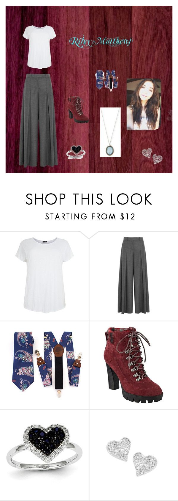"""""""Riley Matthews"""" by fashiondivabmf ❤ liked on Polyvore featuring J.Crew, Nine West, Kevin Jewelers, Vivienne Westwood, Armenta, women's clothing, women, female, woman and misses"""