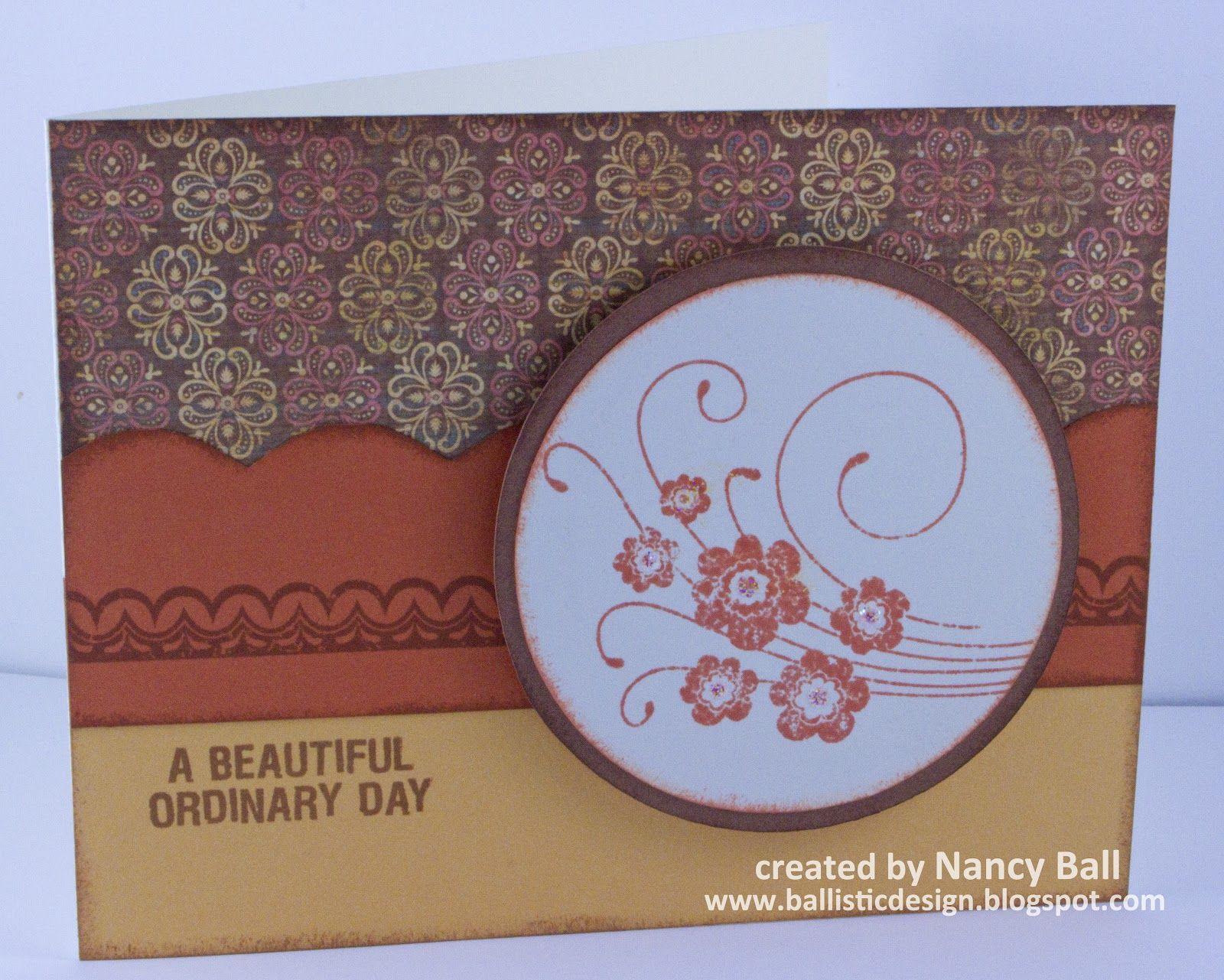 Nancy's CRAFTY blog: Clementine two ways.....