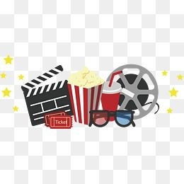 Cinema Package Cinema Clipart Vector Png Movie Set Meal Png Transparent Clipart Image And Psd File For Free Download Girly Images Png Cinema