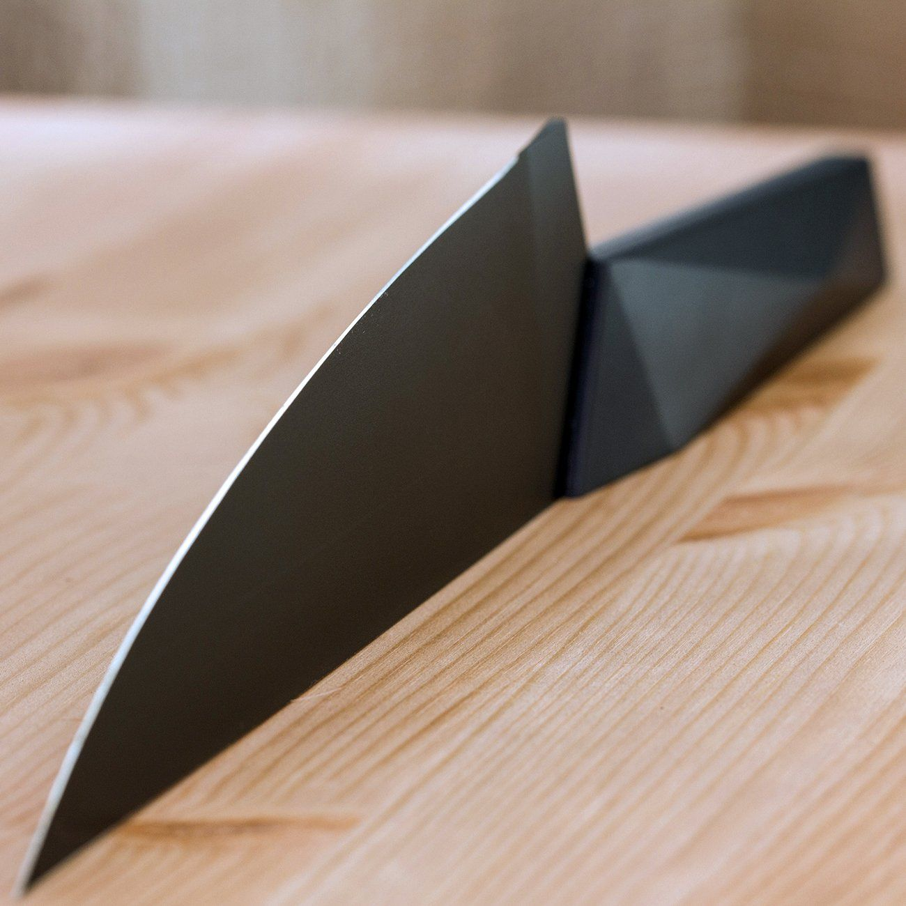 evercut furtif chef u0027s knife geometric designs knives and cuttings