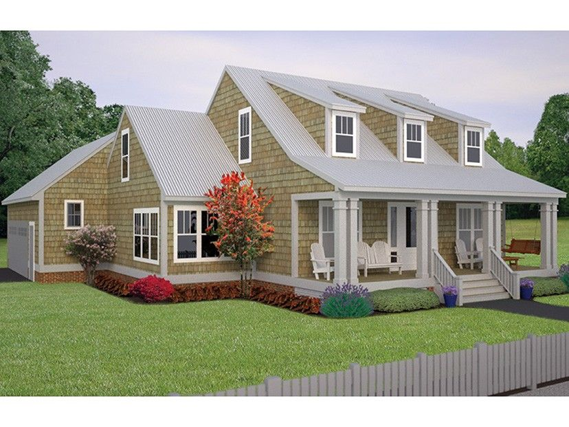 Cape Cod House Plan With 2710 Square Feet And 3 Bedrooms