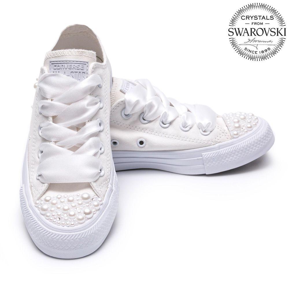 28819c765cb3 Converse Pearls Wedding edition