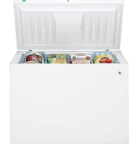 Ge Energy Star 14 8 Cu Ft Manual Defrost Chest Freezer At