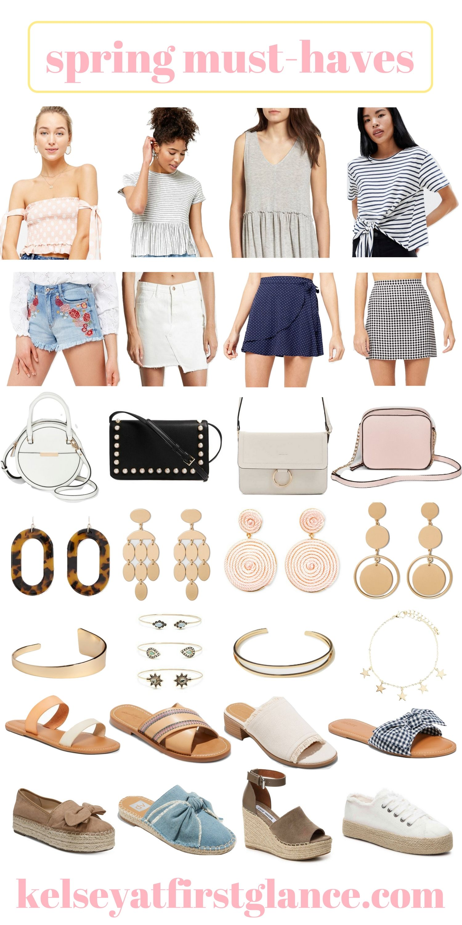 Spring Must Haves-My Spring Wish List — Kelsey at First Glance