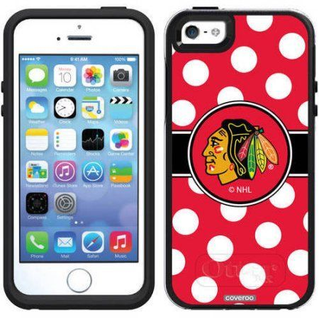 iPhone 5SE/5s OtterBox Symmetry Series NHL Case, Black