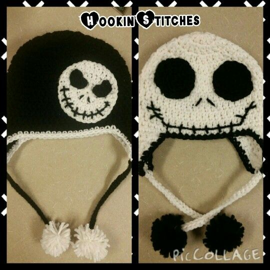 Jack Skellington Crochet Hat My Crochet Projects Pinterest